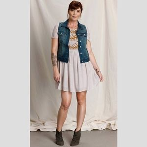 Anthropologie Denim Vest